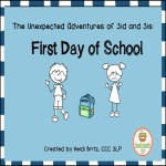 Sid and Sis First Day of School 8x8 cover