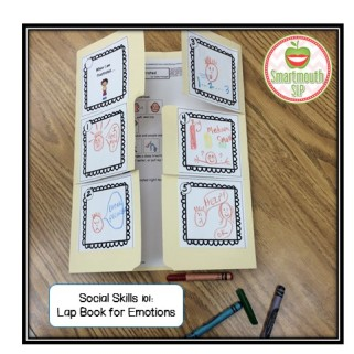 lap book for emotions