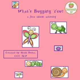 8x8 cover whats bugging you idiom freebie