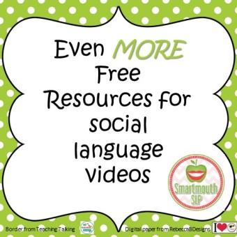 More social language resources blog
