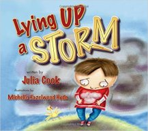 Julia Cook Lying up a storm