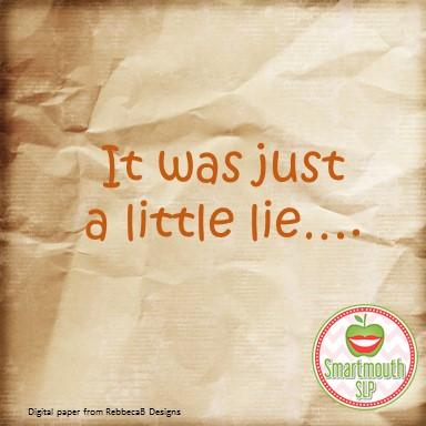 lie blog