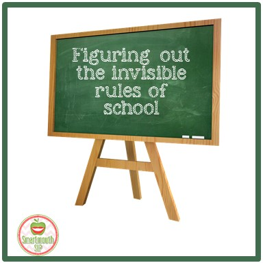 invisible rules of school blog